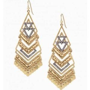 :: Stella & Dot Horizon Chandelier Earrings